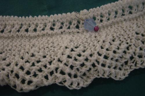 Lace Knitting: Shetland lace edging
